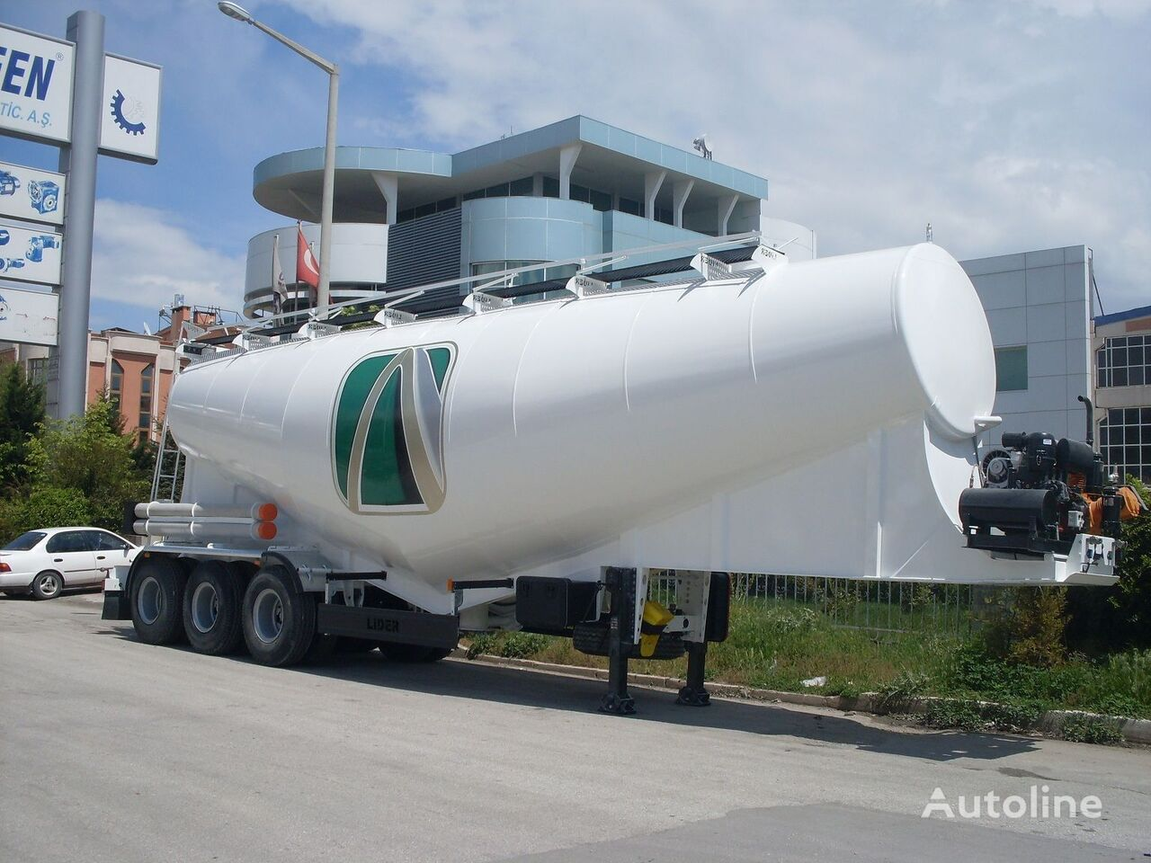 new LIDER بلكر اسمنت مواصفات اوربية 2018 cement tank trailer