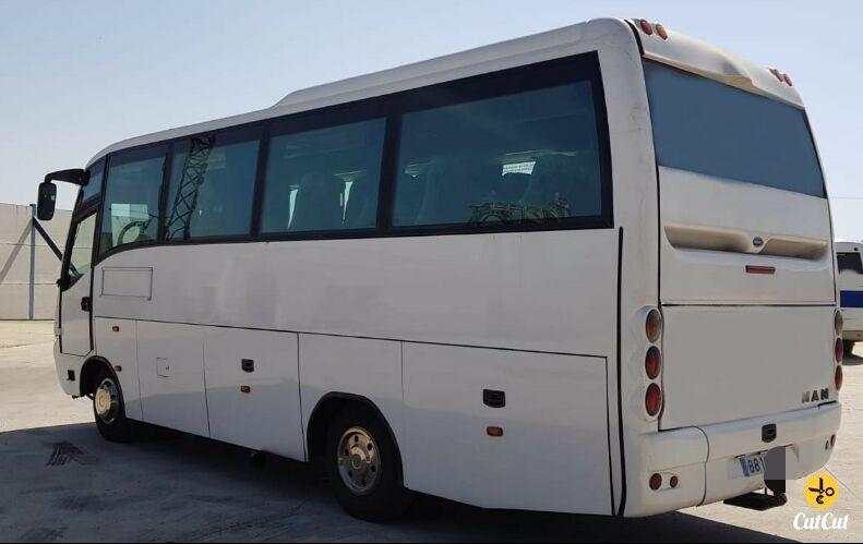 MAN Andecar Séneca 8.225 coach bus