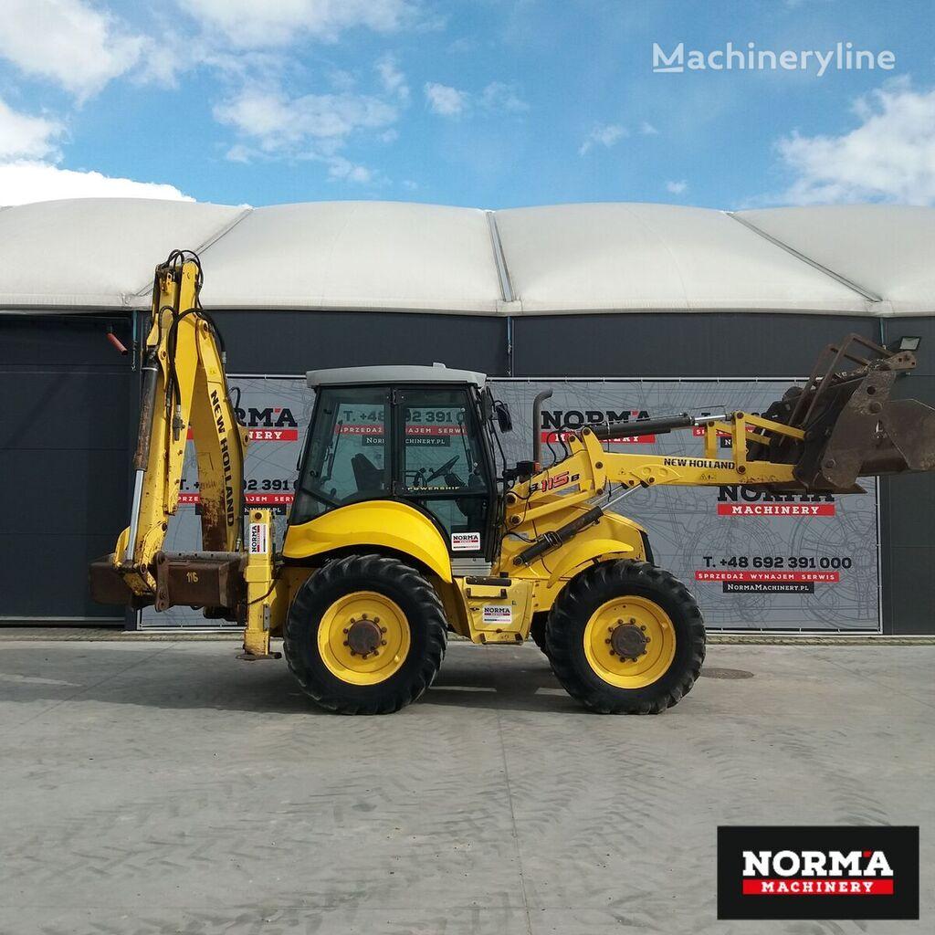 NEW HOLLAND B 115B backhoe loader