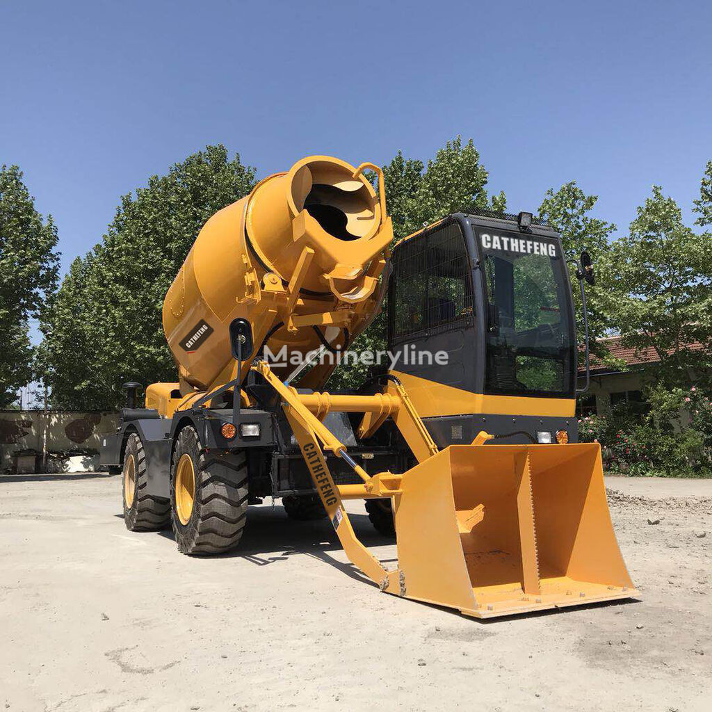 new CATHEFENG HY400 concrete mixer truck