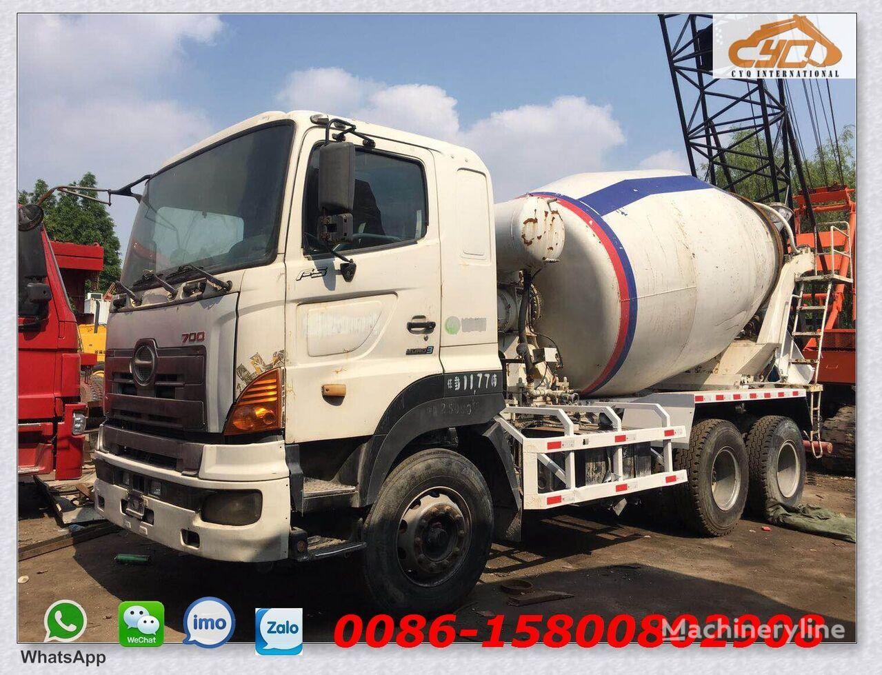 HINO 700 concrete mixer truck
