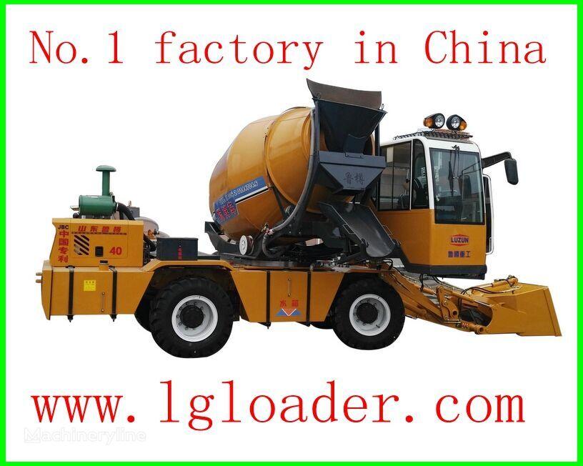 new LUZUN self loading concrete mixer1 concrete mixer truck