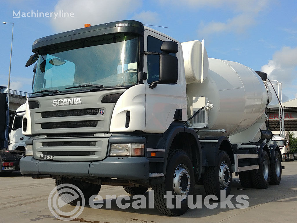 SCANIA 2008 P 380  8X4 CONCRETE MIXER concrete mixer truck