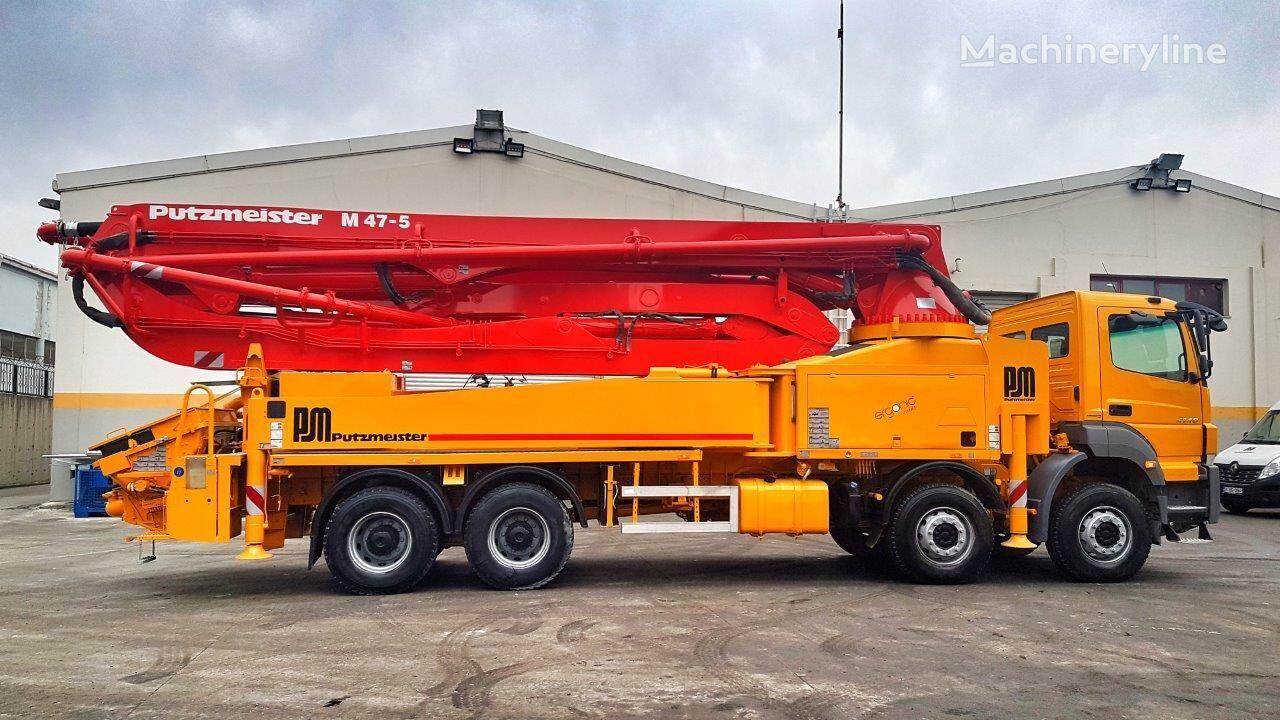 MERCEDES-BENZ Axor 4140  concrete pump