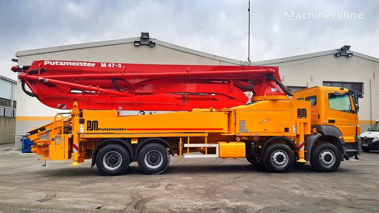 MERCEDES-BENZ Axor 4140 8x4 - Putzmeister 47 Meter Ergonic SPECIAL EDITION concrete pump