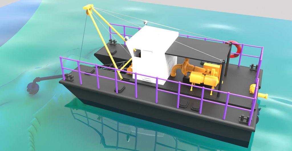 new - DRW-1600 dredge