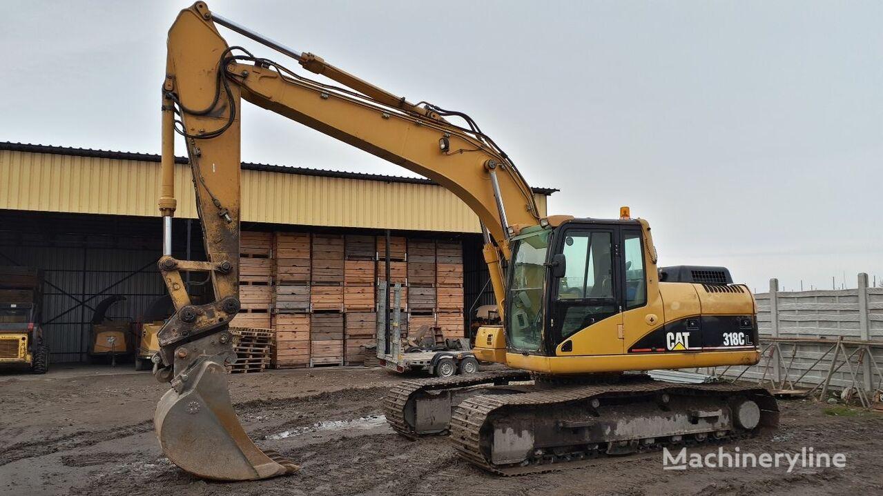 CATERPILLAR 318CL tracked excavator