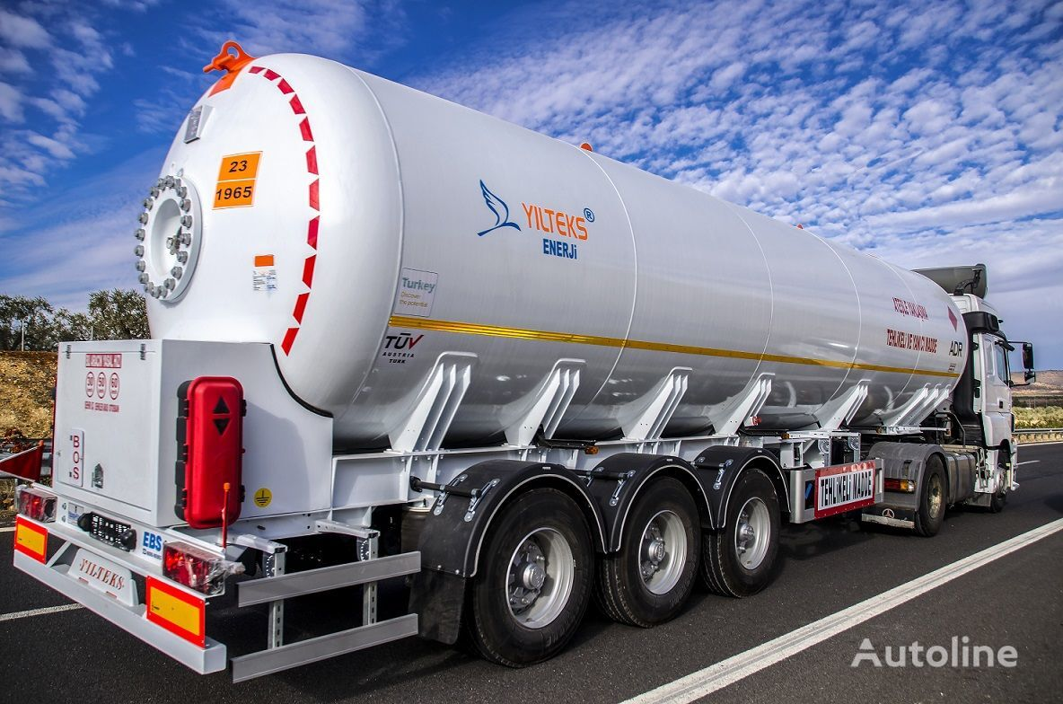 new YILTEKS LPG Trailer - ASME and ADR gas tank trailer