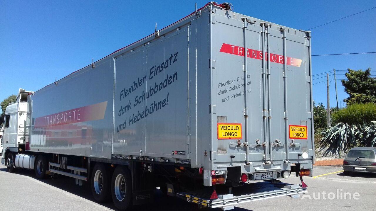 STAS grain truck semi-trailer