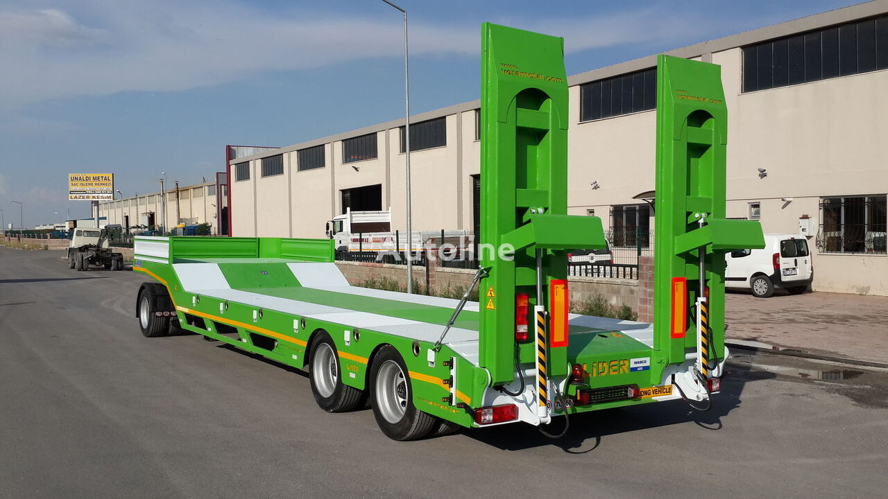 new LIDER 2019 model new from MANUFACTURER COMPANY (LIDER trailer ) low bed semi-trailer