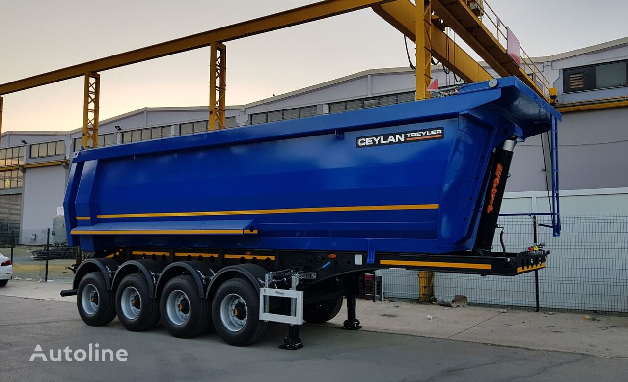 new CEYLAN 35 M3 Made for Africa tipper semi-trailer