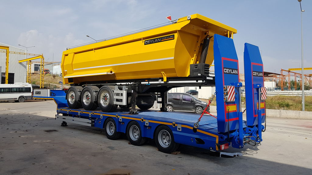 CEYLAN DAMPER 3 AXLES 2018 tipper semi-trailer