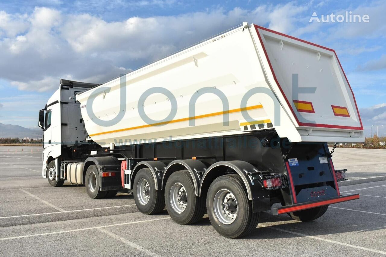 new DONAT Heavy Duty Tipper HARDOX tipper semi-trailer