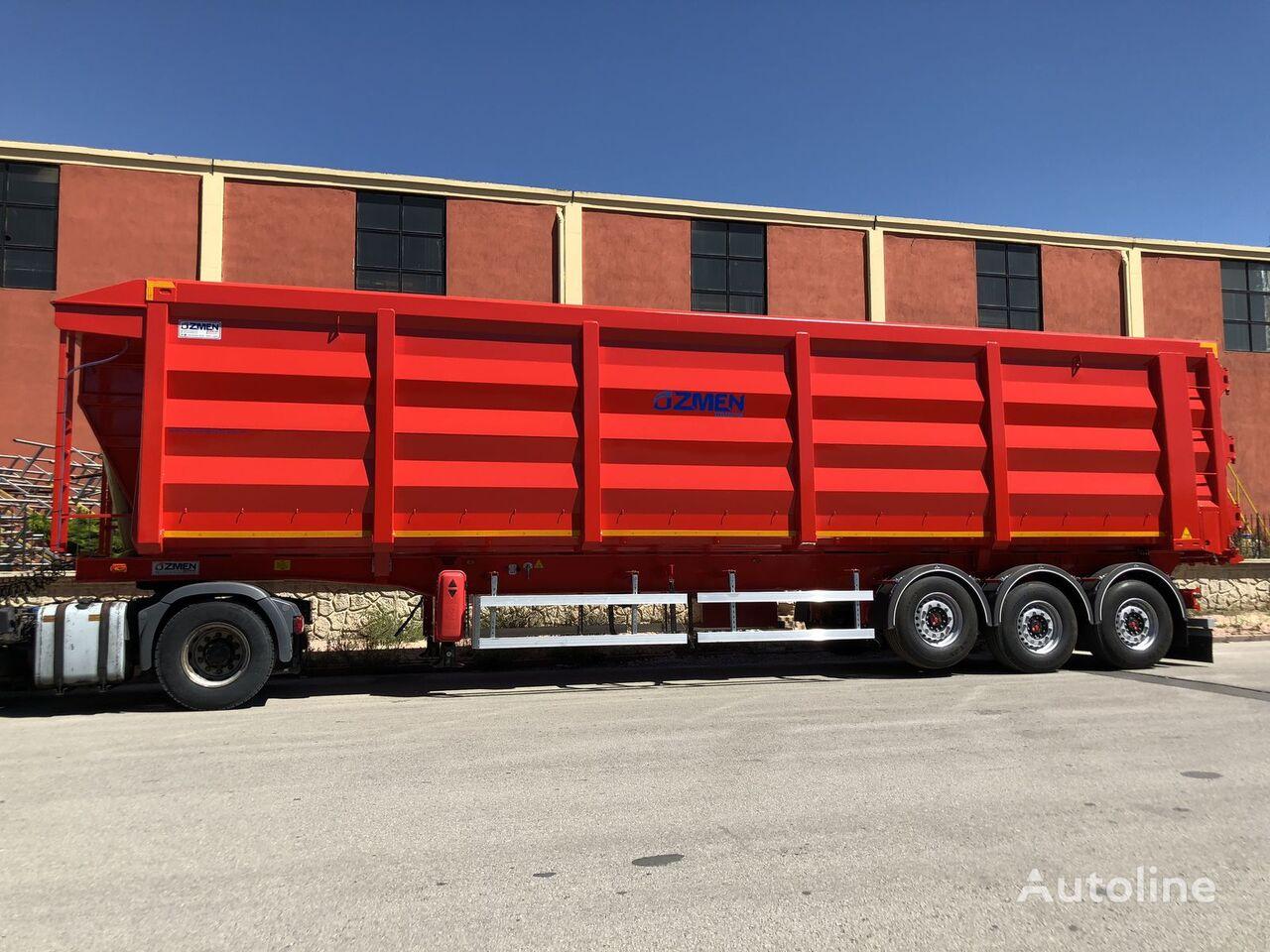 new Ozmen Damper H-450 SCRAP METAL CARRIER TIPPER SEMI TRAILER tipper semi-trailer