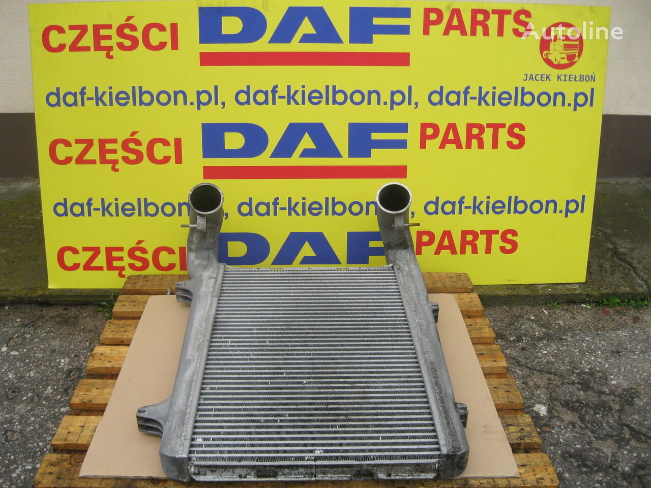 DAF POWIETRZA INTERCOOLER intercooler for DAF XF 105 tractor unit