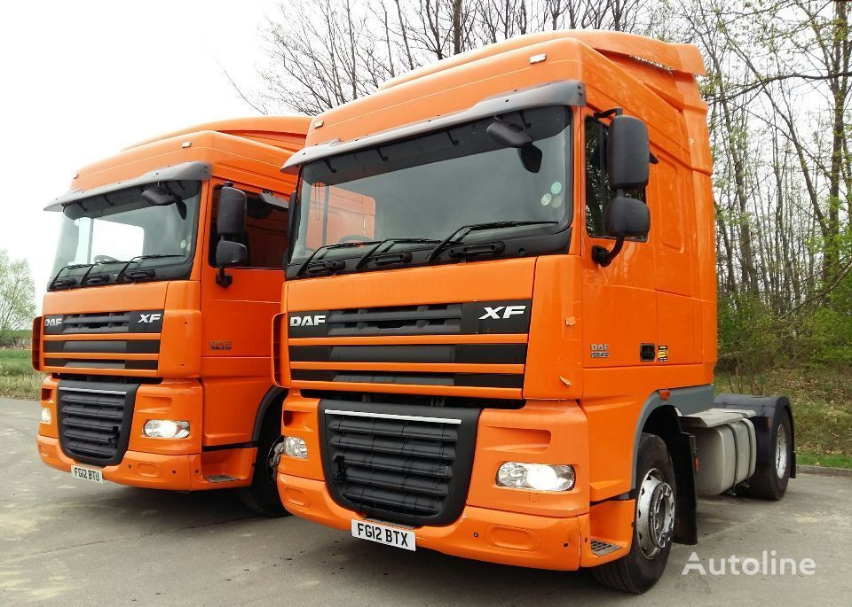 DAF XF 105.410 SPACE CAP tractor unit