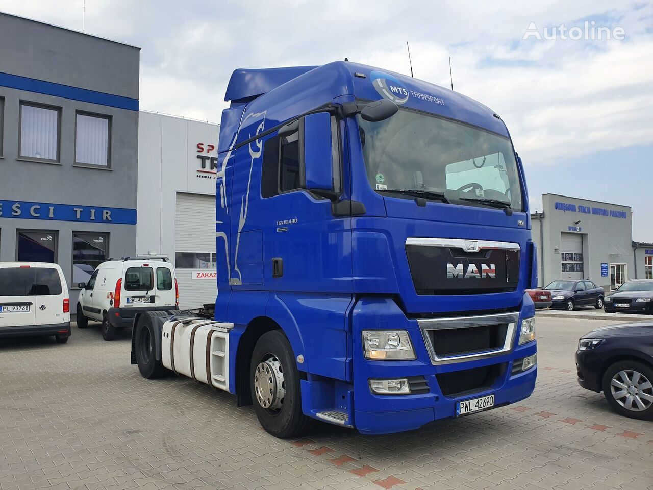 MAN TGX 18.440, Steel/ Air, Automat, Very clean tractor unit