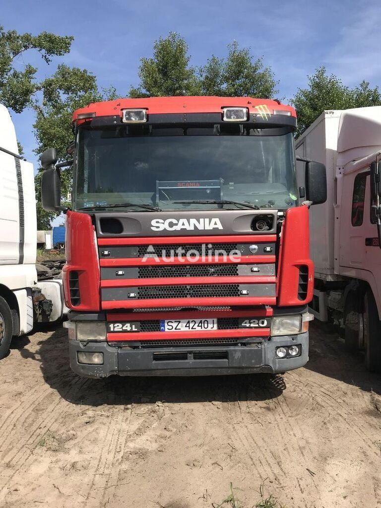 SCANIA 124 420 + RETARDER tractor unit