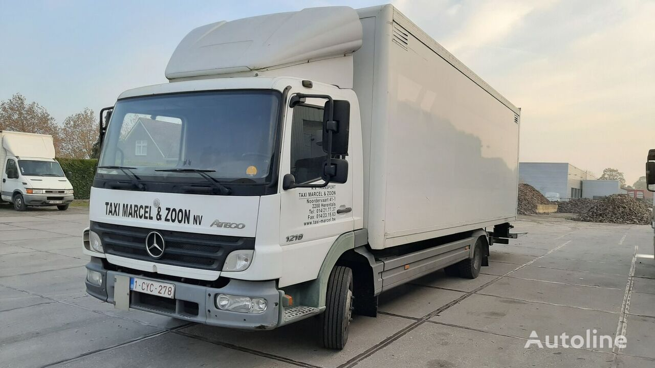 MERCEDES-BENZ Atego 1218 Manual Gearbox closed box truck