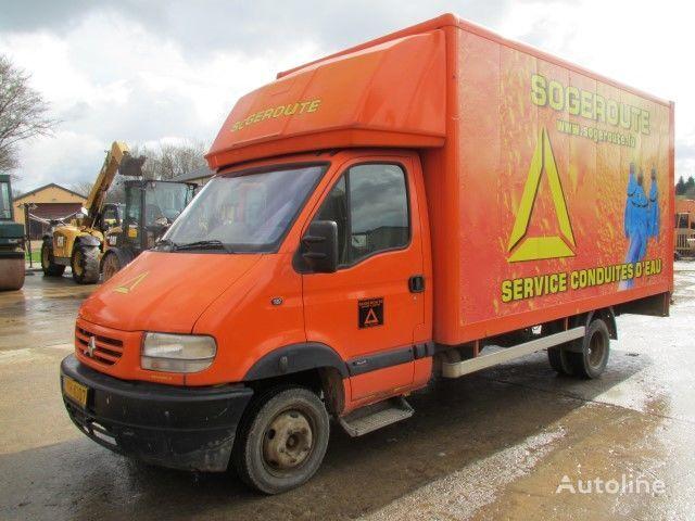RENAULT 130.35 closed box truck
