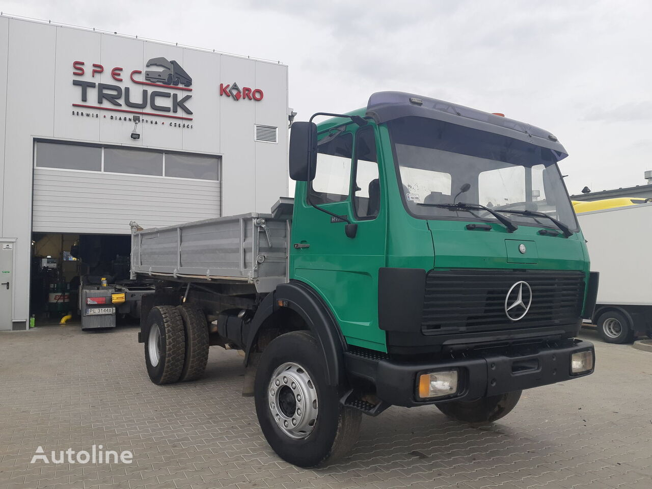 MERCEDES-BENZ SK 1622, 4x4, Manual, Full Steel  dump truck