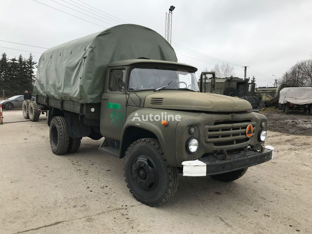 ZIL 130 (2) military truck