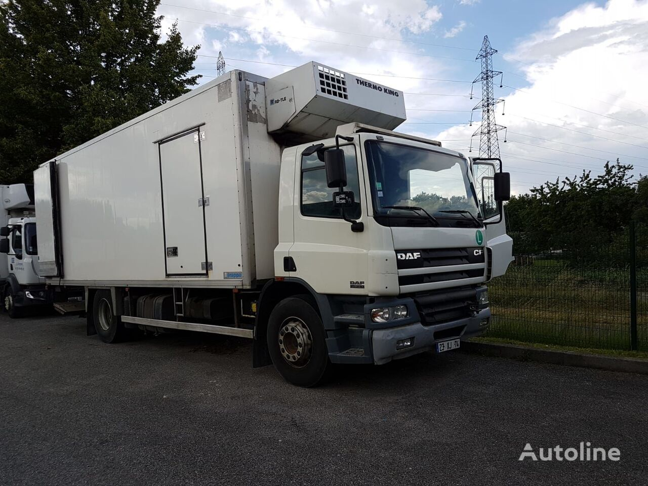 DAF CF 75-310 refrigerated truck