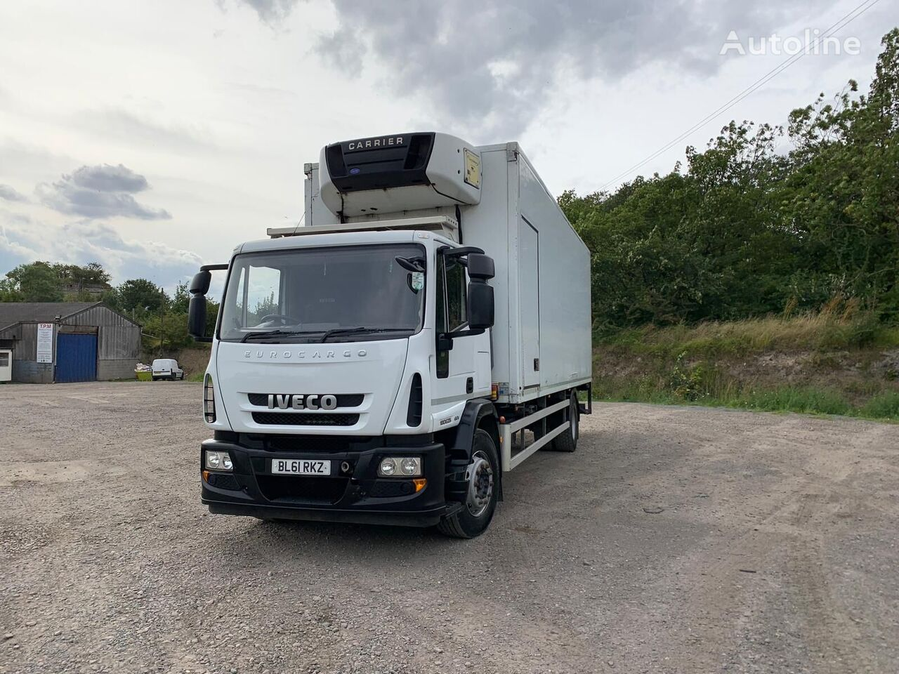 IVECO Eurocargo 180 refrigerated truck