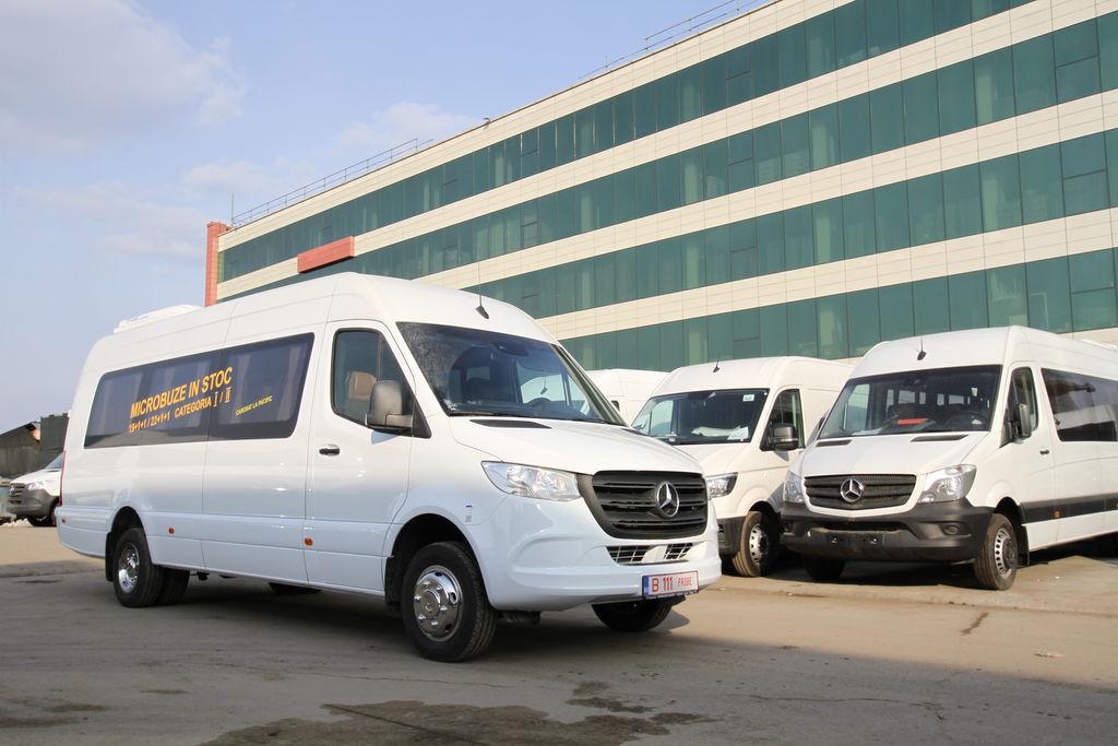 new MERCEDES-BENZ Idilis 19+1+1 *COC* passenger van